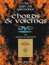 Chords and Voicings DVD cover